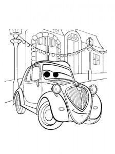 coloring page Topolino