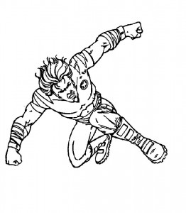 coloring page Tornade (2)