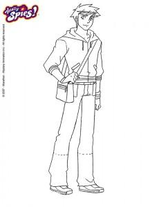 målarbok Totally Spies (7)