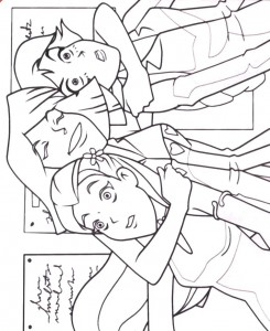 coloring page Totally Spies (8)