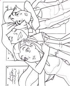 målarbok Totally Spies (8)