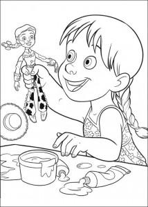 kleurplaat Toy Story 3 (11)