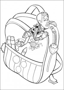 kleurplaat Toy Story 3 (15)