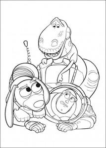 kleurplaat Toy Story 3 (18)