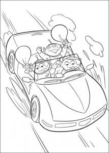 раскраска История игрушек 3 (2)
