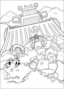 раскраска История игрушек 3 (21)