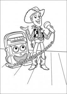 раскраска История игрушек 3 (26)