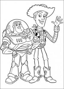 kleurplaat Toy Story 3 (27)