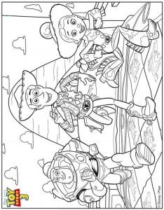 kleurplaat Toy Story 3 (33)