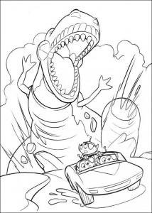 målarbok Toy Story 3 (4)