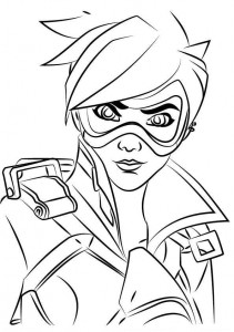 coloring page tracer 3