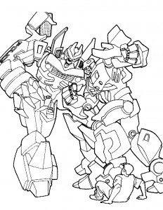 coloring page Transformers (1)