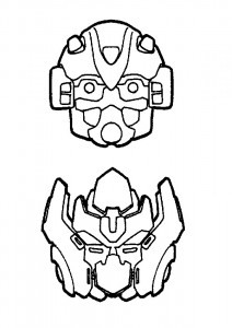coloring page Transformers (12)