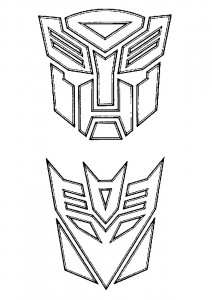 coloring page Transformers (13)