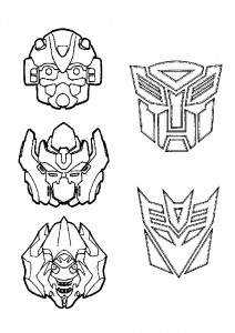 coloring page Transformers (14)