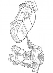 coloring page Transformers (17)