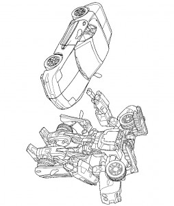 coloring page Transformers (18)