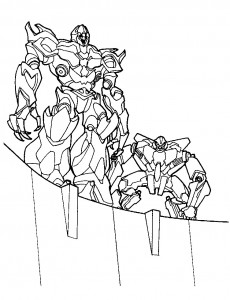 coloring page Transformers (19)