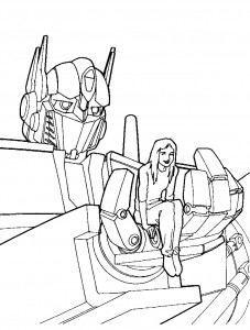 coloring page Transformers (2)