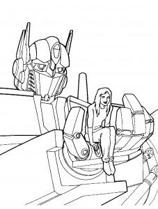 målarbok Transformatorer (2)