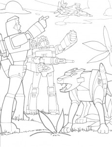 coloring page Transformers (20)