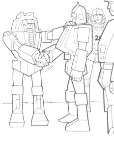 coloring page Transformers (21)