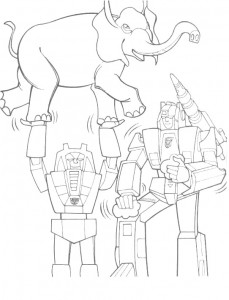 coloring page Transformers (22)