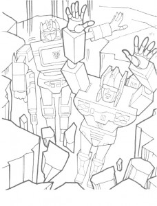 coloring page Transformers (23)