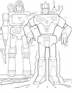 coloring page Transformers (24)