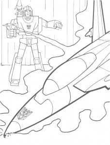 coloring page Transformers (25)