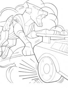 coloring page Transformers (28)
