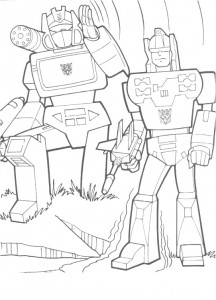 coloring page Transformers (29)