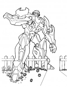coloring page Transformers (3)