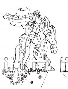 målarbok Transformatorer (3)
