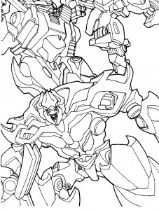 coloring page Transformers (6)