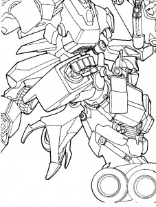 coloring page Transformers (7)
