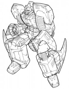 coloring page Transformers (8)
