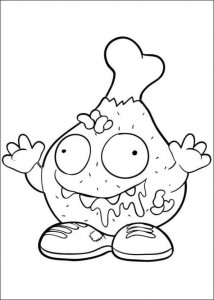 coloring page Trash Pack (10)