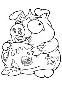 coloring page Trash Pack (11)