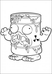 coloring page Trash Pack (13)
