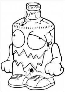 coloring page Trash Pack (16)