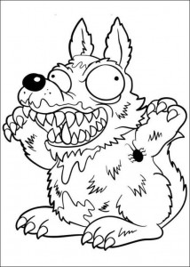 coloring page Trash Pack (17)