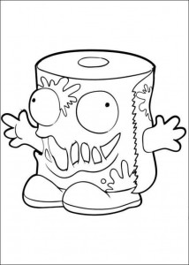 coloring page Trash Pack (5)