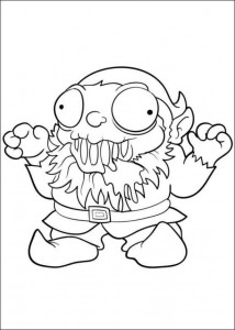 coloring page Trash Pack (6)