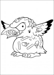 coloring page Trash Pack (8)
