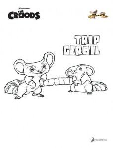 coloring page Trip Gerbil
