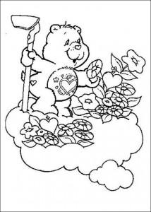 målarbok Care Bears (1)