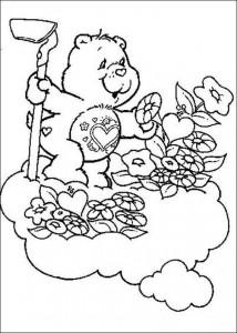 målarbok Care Bears (10)