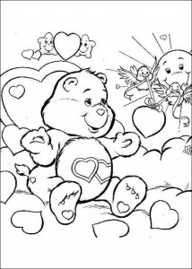 målarbok Care Bears (14)