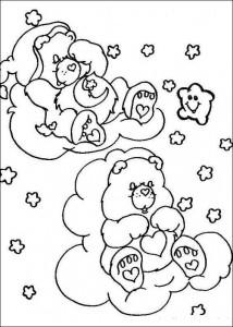 kleurplaat Troetelbeertjes (17)